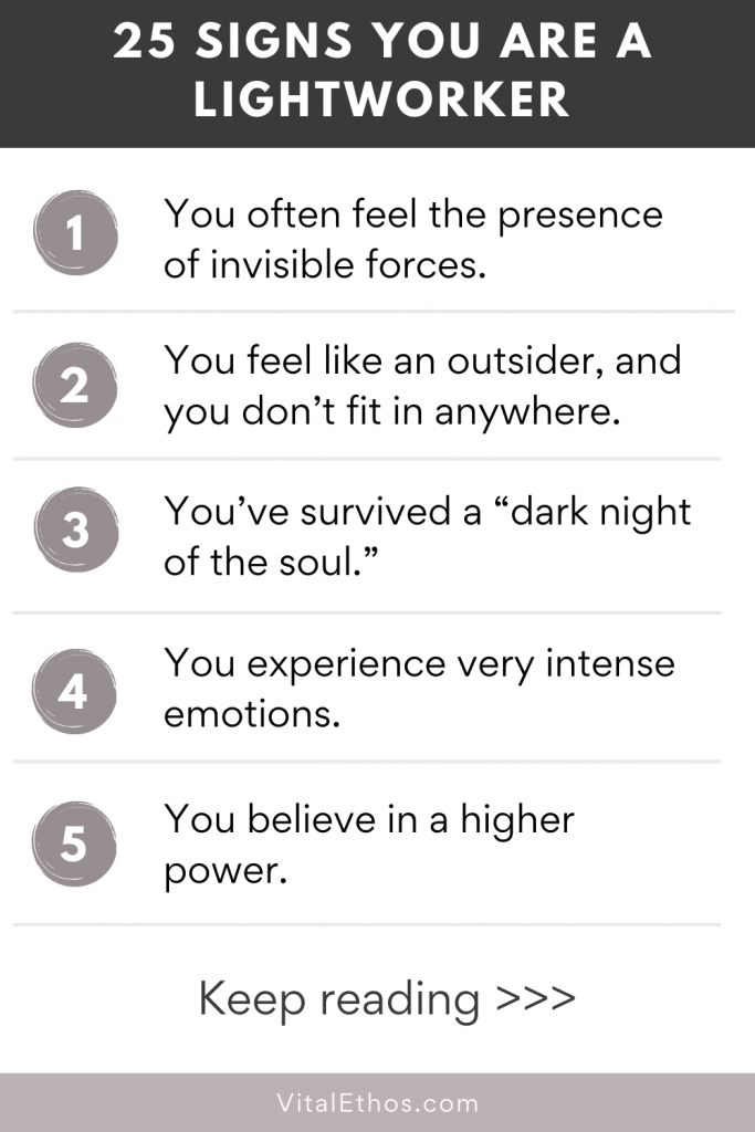 25 Surprising Signs You Are A Lightworker 1